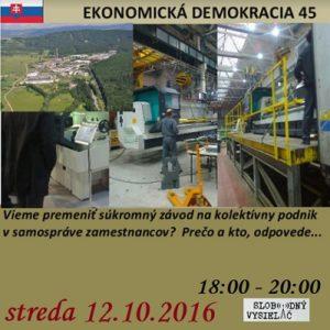 Ekonomická demokracia 45