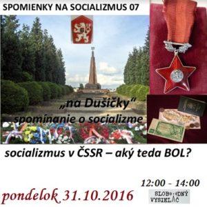 Spomienky na Socializmus 07