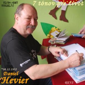 7 tónov pre život…Daniel Hevier