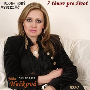 7 tónov pre život…Júlia Hečková