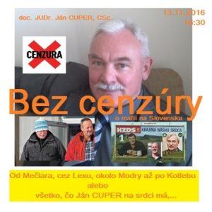 Bez cenzúry 32/2016