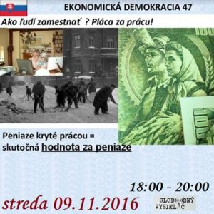 Ekonomická demokracia 47