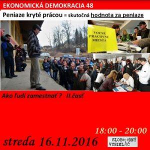 Ekonomická demokracia 48