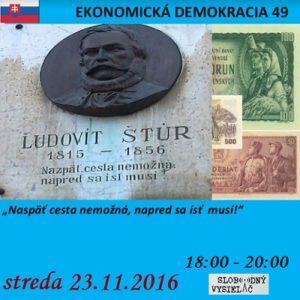 Ekonomická demokracia 49