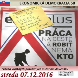 Ekonomická demokracia 50