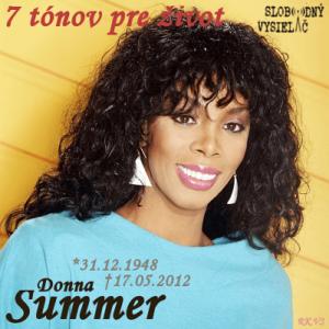 7 tónov pre život…Donna Summer