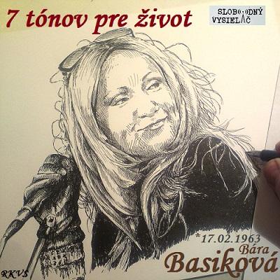 7 tónov pre život…Bára Basiková