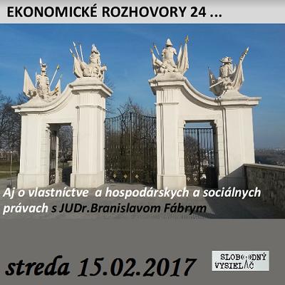 Ekonomické rozhovory 24 (repríza)