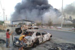 Pri silnom výbuchu v Mósule zahynulo vyše 100 civilistov. 1