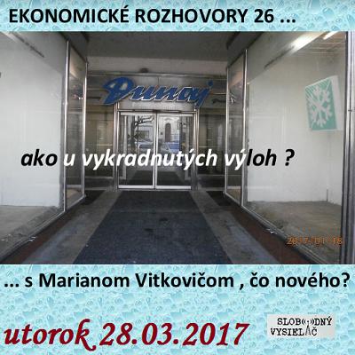 Ekonomické rozhovory 26