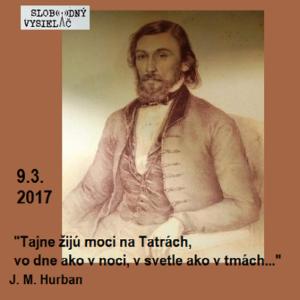Opony 164 (Jozef Miloslav Hurban sa narodil pred 200 rokmi)