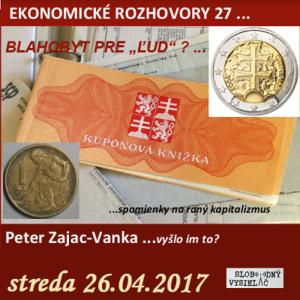 Ekonomické rozhovory 27