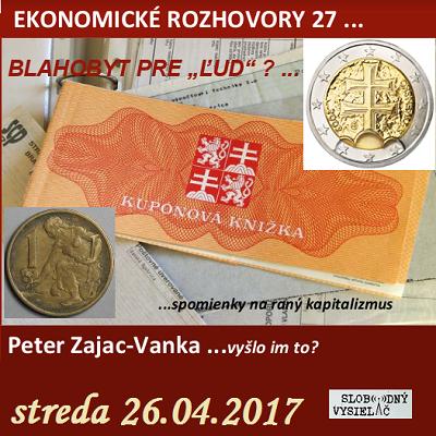 Ekonomické rozhovory 27 (repríza)