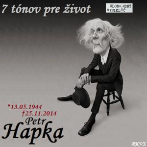 7 tónov pre život…Petr Hapka