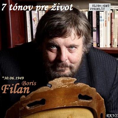 7 tónov pre život…Boris Filan