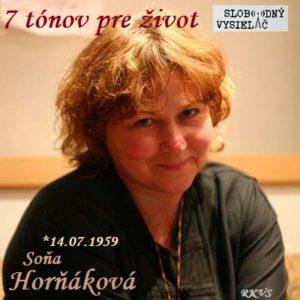 7 tónov pre život…Soňa Horňáková