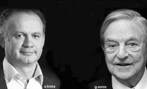 Prezident Kiska sa v USA údajne stretol s finančníkom Sorosom, ich debata trvala hodinu, 1