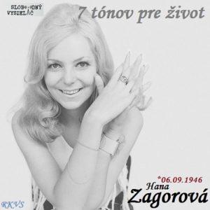 7 tónov pre život…Hana Zagorová