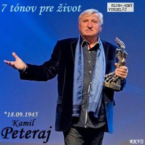 7 tónov pre život…Kamil Peteraj