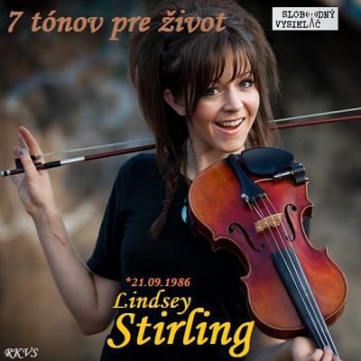 7 tónov pre život…Lindsey Stirling
