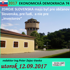 Ekonomická demokracia 74