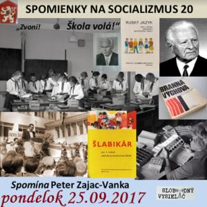 Spomienky na Socializmus 20