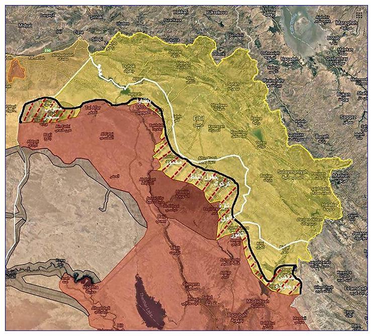 Irák a Sýrie: Uzávorkování priorit jako recept na katastrofu. 1