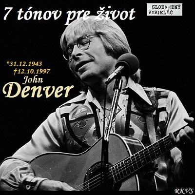 7 tónov pre život…John Denver