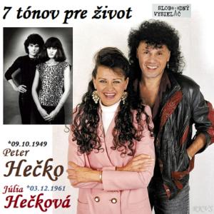 7 tónov pre život…Júlia & Peter Hečkovci