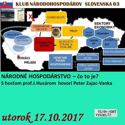 Klub národohospodárov Slovenska 03 (repríza)