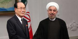 Vedúci delegácie KĽDR v Petrohrade ponúkol Iránu spojenectvo v boji proti USA. 1