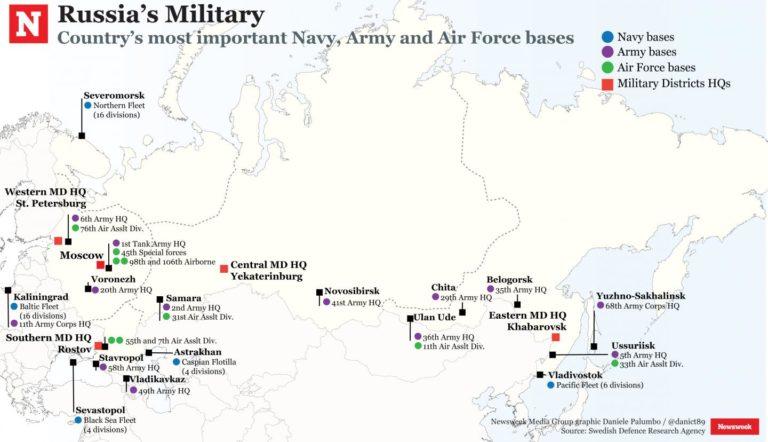 Vladimir Putin sa osobne zúčastnil cvičebného odpálenia štyroch medzikontinentálnych balistických rakiet, uviedol Newsweek 1