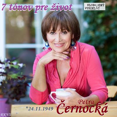 7 tónov pre život…Petra Černocká