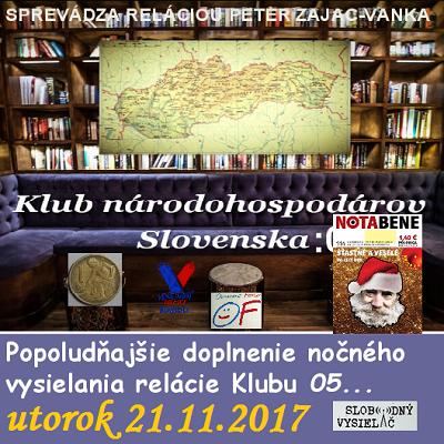 Klub národohospodárov Slovenska 06 (repríza)