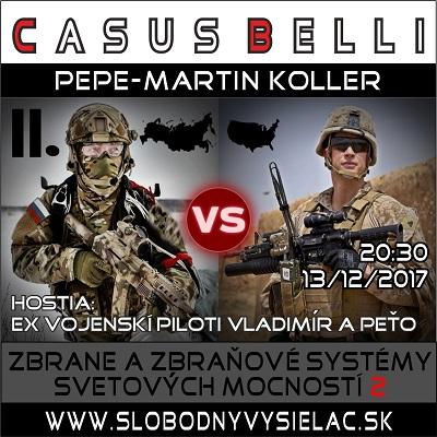 Casus belli 29 (repríza)