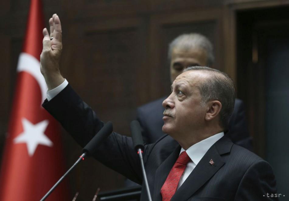 Turecký prezident pohrozil rozšírením ofenzívy v Sýrii 1