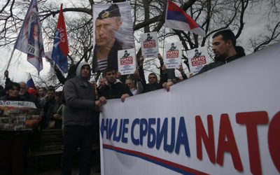 Prieskum: Srbi sú jasnou väčšinou proti vstupu do NATO.