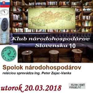Klub národohospodárov Slovenska 10
