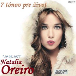 7 tónov pre život…Natalia Oreiro