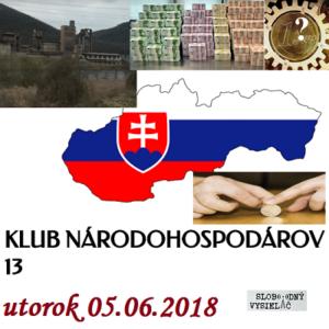 Klub národohospodárov Slovenska 13