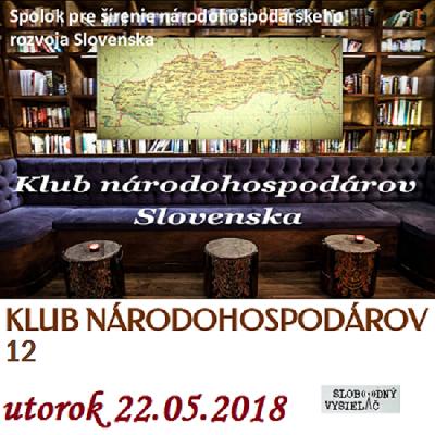 Klub národohospodárov Slovenska 12 (repríza)