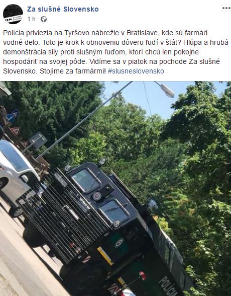 Polícia reaguje na HOAX šírený mainstreamom 3