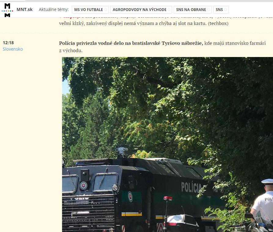 Polícia reaguje na HOAX šírený mainstreamom 4