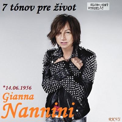 7 tónov pre život…Gianna Nannini