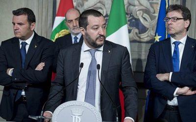 Bojovný Salvini ovládl italskou politickou agendu.