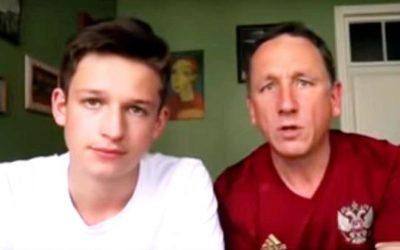 Videoreportáž: Britskí fanúšikovia, ktorí boli na MS vo futbale v Rusku, vyvracajú mýty o Rusoch.