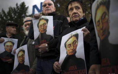 ESĽP odsúdil Rusko za nedostatočné vyšetrovanie vraždy A. Politkovskej