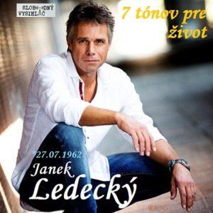 7 tónov pre život…Janek Ledecký
