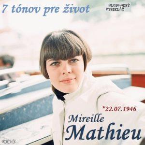 7 tónov pre život…Mireille Mathieu