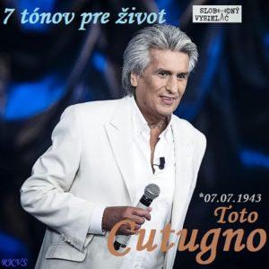 7 tónov pre život…Toto Cutugno